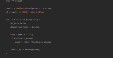 Getting stack traces in Swift on Linux